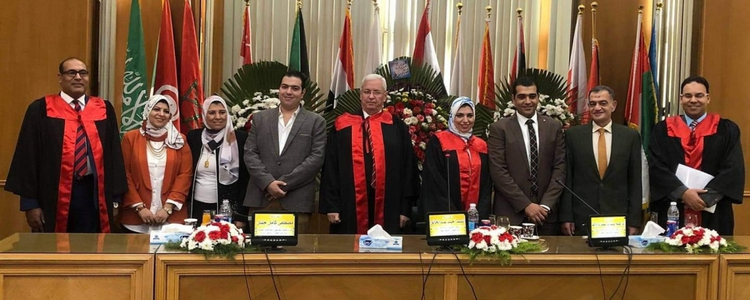 Congratulations on the occasion of Dr. Aya Ahmed Shata obtaining her PhD